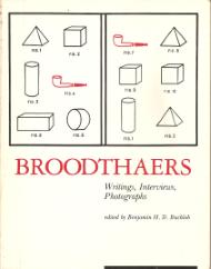 BROODTHAERS – WRITINGS, INTERVIEWS, PHOTOGRAPHS