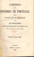 COMPÊNDIO DA HISTÓRIA DE PORTUGAL PARA INSTRUCÇÃO DA MOCIDADE