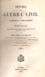 HISTÓRIA DA GUERRA CIVIL E DO ESTABELECIMENTO DO GOVERNO PARLAMENTAR EM PORTUGAL (1777-1834)-SEGUNDA EPOCHA (GUERRA DA PENINSULA)