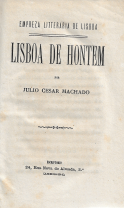 LISBOA DE HONTEM
