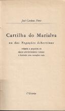 CARTILHA DO MARIALVA OU DAS NEGAÇÕES LIBERTINAS...