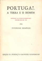 PORTUGAL A TERRA E O HOMEM-ANTOLOGIA DE TEXTOS DE ESCRITORES DO SÉC. XIX E XX