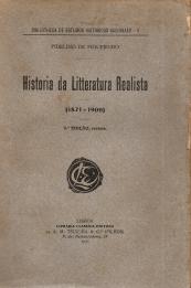 HISTORIA DA LITTERATURA REALISTA (1871-1900)