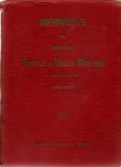 MEMÓRIAS DO PROFESSOR THOMAZ DE MELLO BREYNER (1869-1880)