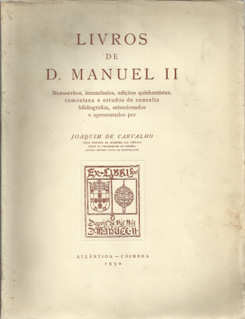 LIVROS DE D.MANUEL II