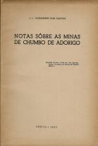 NOTAS SOBRE AS MINAS DE CHUMBO DE ADORIGO