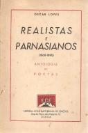 REALISTAS E PARNASIANOS(1860-90)-ANTOLOGIA DE POETAS