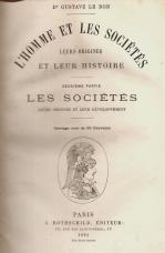 L'HOMME ET LES SOCIÉTÉS LEURS ORIGINES ET LEUR HISTOIRE