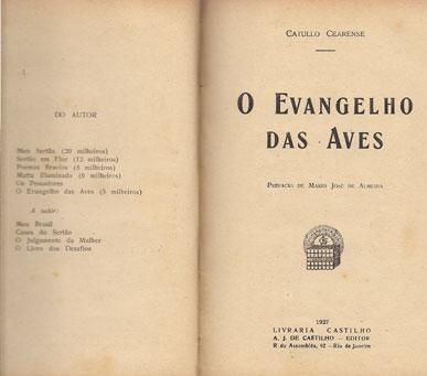 O EVANGELHO DAS AVES