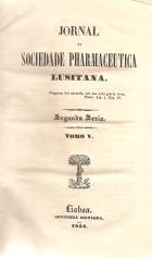 JORNAL DA SOCIEDADE PHARMACEUTICA LUSITANA