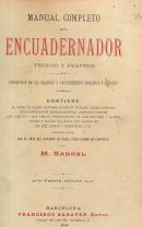 MANUAL COMPLETO DEL ENCUADERNADOR-TEÓRICO Y PRÁCTICO