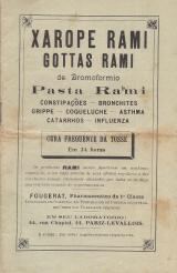 XAROPE RAMI/GOTTAS RAMI DE BROMOFORMIO/PASTA RAMI