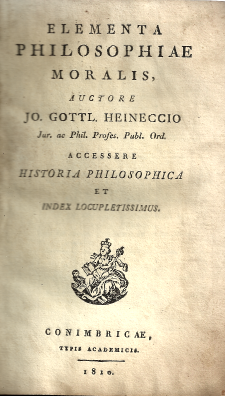 ELEMENTA PHILOSOPHIAE MORALIS