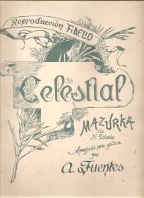 CELESTIAL - MAZURKA - PARTITURA