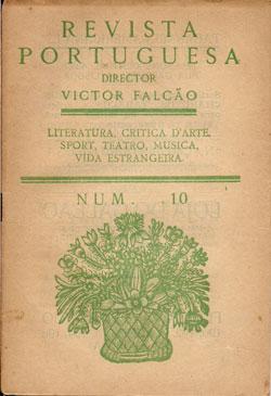 REVISTA PORTUGUESA-LITERATURA, CRITICA D´ARTE, SPORT, TEATRO, MÚSICA, VIDA ESTRANGEIRA