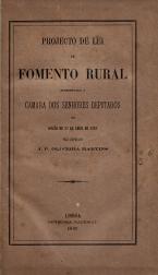 PROJECTO DE LEI DE FOMENTO RURAL