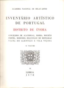 INVENTÁRIO ARTÍSTICO DE PORTUGAL-DISTRITO DE ÉVORA