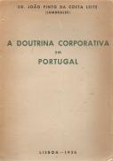 A DOUTRINA CORPORATIVA EM PORTUGAL