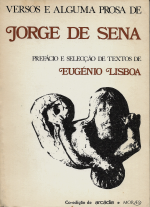 VERSOS E ALGUMA PROSA DE JORGE DE SENA