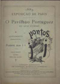 1889-EXPOSIÇÃO DE PARIS-O PAVILHÃO PORTUGUEZ DO QUAI D´ORSAY-SUPPLEMENTO EXTRAORDINARIO DOS PONTOS NOS ii