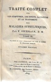 TRAITÉ COMPLET SUR LES SYMPTOMES, LES EFFETS, LA NATURE ET LE TRAITEMENT DES MALADIES SYPHILITIQUES
