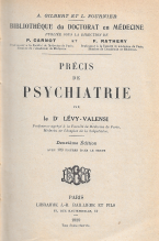 PRÉCIS DE PSYCHIATRIE