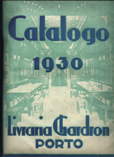 CATÁLOGO GERAL DA LIVRARIA CHARDRON
