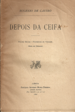DEPOIS DA CEIFA - FOLHAS SOLTAS - FIGURINHAS DE TANAGRA - ODES DE HORÁCIO