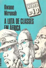 A LUTA DE CLASSES EM ÁFRICA
