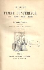 LE LIVRE DE LA FEMME D'INTÉRIEUR - TABLE-COUTURE-MÉNAGE-HYGIÈNE