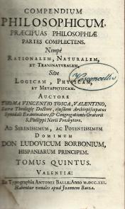 COMPENDIUM PHILOSOPHICUM PRAECIPUAS PHILOSOPHIAE PARTES COMPLECTENS
