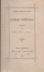 POESIAS PÓSTUMAS