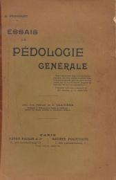 ESSAIS DE PÉDOLOGIE GÉNÉRALE