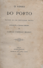 O VINHO DO PORTO-PROCESSO DE UMA BESTIALIDADE INGLESA(EXPOSIÇÃO A THOMAZ RIBEIRO)