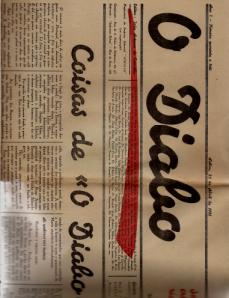 O DIABO-SEMANÁRIO DE CRÍTICA LITERÁRIA E ARTÍSTICA