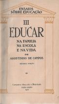 EDUCAR NA FAMÍLIA, NA ESCOLA E NA VIDA