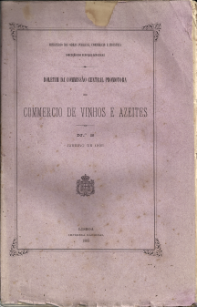 BOLETIM DA COMISSÃO CENTRAL PROMOTORA DO COMÉRCIO DE VINHOS E AZEITES