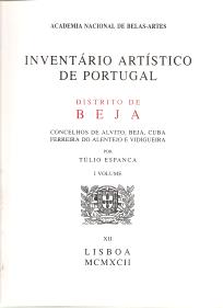 INVENTÁRIO ARTÍSTICO DE PORTUGAL-DISTRITO DE BEJA