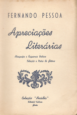 APRECIAÇÕES LITERÁRIAS