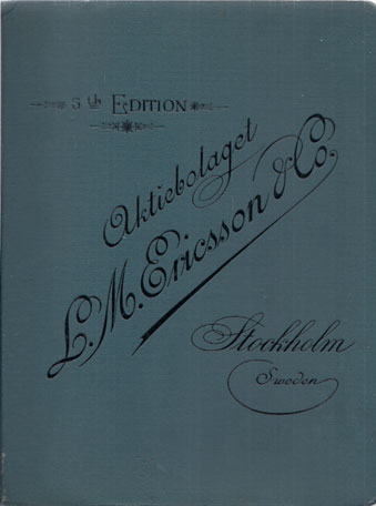CATALOGUE FROM AKTIEBOLAGET L.M. ERICSSON & CO.