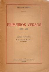 PRIMEIROS VERSOS(1882-1889)