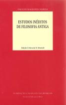 ESTUDOS INÉDITOS DE FILOSOFIA ANTIGA