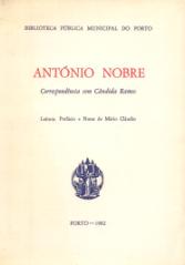 ANTÓNIO NOBRE-CORRESPONDÊNCIA COM CÂNDIDA RAMOS