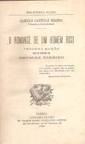 O ROMANCE DE UM HOMEM RICO