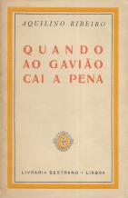 QUANDO AO GAVIÃO CAI A PENA
