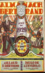 ALMANAQUE BERTRAND-1929