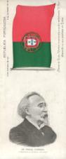 MANUEL D`ARRIAGA-PRIMEIRO PRESIDENTE DA REPÚBLICA PORTUGUESA/LETRA E MÚSICA DE «A PORTUGUEZA»