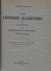 OBRAS (O ROTEIRO DE FLANDRES E D. JOÃO II(1944);REGIMENTO DO ESTROLABIO E DO QUADRANTE-TRATADO DA SPERA DO MUNDO-REPRODUCTION FACSIMILÉ DU SEUL EXEMPLAIRE CONNU APPARTENANT À LA BIBLIOTHEQUE D'ÉTAT DE MUNICH(1924); LES LÉGENDES ALLEMANDES SUR L'HISTOIRES DES DÉCOUVERTES MARITIMES PORTUGAISES. RÉPONSE À MR.HERMANN WAGNER(1917-20); LES LÉGENDES ALLEMANDES SUR L'HISTOIRE DES DÉCOUVERTES MARITIMES PORTUGAISES(2ÈME.PARTIE.1925-27); REIMPRESSION DE CRITIQUES ÉTRANGÉRES SUR L'HISTOIRE DE LA SCIENCE NAUTIQUE PORTUGAISE(1924)