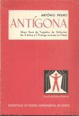 ANTÍGONA-GLOSA NOVA DA TRAGÉDIA DE SÓFOCLES