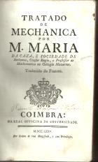 TRATADO DE MECHANICA...